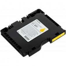 Картридж аналог GC-41Y (405764) (Совместимый) для Ricoh Aficio SG 3110DN/ 3110DNw/ 3100SNw/ 3110SFNw, желтый (2200 стр.)