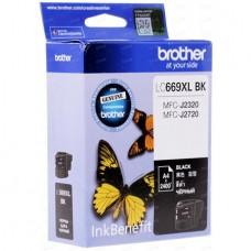 Картридж LC665XLBK для Brother MFC-J2320/ 2720, черный (2400 стр.)