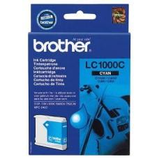 Картридж LC-1000C для Brother DCP-130C/ DCP-330C/ DCP-350C/ DCP-357C/ DCP-540CN/ DCP-560CN/ DCP-750CW/ DCP-770CW, MFC-240C/ MFC-440CN/ MFC-465CN/ MFC-660CN/ MFC-680CN/ MFC-845CW/ MFC-885CW/ MFC-3360C/ MFC-5460CN/ MFC-5860CN, голубой (400 стр.)
