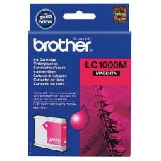 Картридж LC-1000M для Brother DCP-130C/ DCP-330C/ DCP-350C/ DCP-357C/ DCP-540CN/ DCP-560CN/ DCP-750CW/ DCP-770CW/ MFC-240C/ MFC-440CN/ MFC-465CN/ MFC-660CN/ MFC-680CN/ MFC-845CW/ MFC-885CW/ MFC-3360C/ MFC-5460CN/ MFC-5860CN, пурпурный (400 стр.)