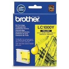 Картридж LC-1000Y для Brother DCP-130C/ DCP-330C/ DCP-350C/ DCP-357C/ DCP-540CN/ DCP-560CN/ DCP-750CW/ DCP-770CW/ MFC-240C/ MFC-440CN/ MFC-465CN/ MFC-660CN/ MFC-680CN/ MFC-845CW/ MFC-885CW/ MFC-3360C/ MFC-5460CN/ MFC-5860CN, желтый (400 стр.)