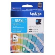 Картридж LC-565XLC для Brother MFC-J2310/ MFC-J2510/ MFC-J3520/ MFC-J3720, голубой (1200 стр.)