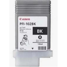 Dye Black Ink Tank PFI-102Bk для Canon imagePROGRAF iPF500/ iPF600/ iPF605/ iPF610/ iPF700/ iPF710/ iPF720, черный (130 мл.)