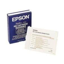 Картридж C13S020062 для Epson Stylus 1500, черный (1900 стр.)