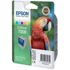 Картридж C13T008401 для Epson Stylus Photo 790/ 870/ 890/ 895/ 915, цветной (220 стр.)