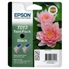 Картридж (двойной) C13T013402 для Epson Stylus Color 480/ 580/ C20SX/ UX/ C40SX/ UX, черный (420 стр.)