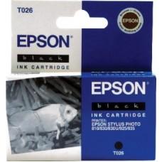 Картридж C13T026401 для Epson Stylus Photo 810/ 830/ 830U/ 925/ 935, черный (540 стр.)