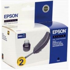 Картридж (двойной) C13T032142 для Epson Stylus C70/ C80/ C82/ CX5200/ CX5400, черный (1740 стр.)