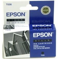 Картридж C13T036140 для Epson Stylus C42/ C44/ C46, черный (220 стр.)