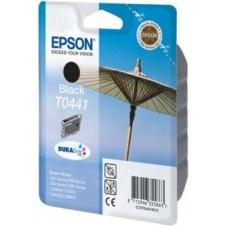 Картридж C13T044140 для Epson Stylus C84/ C86/ C84 Photo Edition/ C86 Photo Edition/ CX6400/ CX6600, черный (400 стр.)