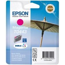 Картридж C13T044340 для Epson Stylus C84/ C86/ C84 Photo Edition/ C86 Photo Edition/ CX6400/ CX6600, пурпурный (450 стр.)