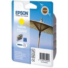 Картридж C13T044440 для Epson Stylus C84/ C86/ C84 Photo Edition/ C86 Photo Edition/ CX6400/ CX6600, желтый (450 стр.)