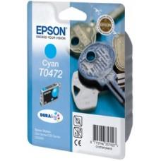 Картридж C13T04724A для Epson Stylus C63/ C65/ CX3500, голубой (250 стр.)