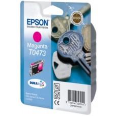 Картридж C13T04734A для Epson Stylus C63/ C65/ CX3500, пурпурный (250 стр.)