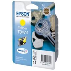 Картридж C13T04744A для Epson Stylus C63/ C65/ CX3500, желтый (250 стр.)