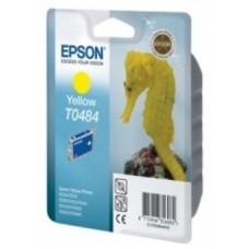 Картридж C13T048440 для Epson Stylus Photo R200/ R220/ R300/ R320/ R340/ RX500/ RX600/ RX620, желтый (430 стр.)