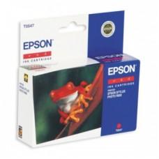 Картридж C13T054740 для Epson Stylus Photo R800/ R1800, красный (400 стр.)