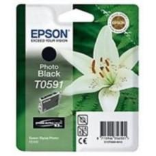 Картридж C13T059140 для Epson Stylus Photo R2400, черный (440 стр.)