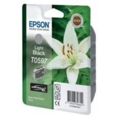 Картридж C13T059740 для Epson Stylus Photo R2400, серый (440 стр.)
