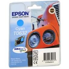 Картридж C13T06324A для Epson Stylus C67 Photo Edition/ C87/ C87 Photo Edition/ CX3700/ CX4100/ CX4700, голубой (250 стр.)