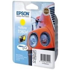 Картридж C13T06344A для Epson Stylus C67 Photo Edition/ C87/ C87 Photo Edition/ CX3700/ CX4100/ CX4700, желтый (250 стр.)