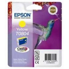 Картридж C13T08044010 для Epson Stylus Photo P50/ PX650/ PX660/ PX700W/ PX710W/ PX720WD/ PX800FW/ PX810FW/ PX820FWD/ R265/ R285/ R360/ RX560/ RX585/ RX685, желтый (520 стр.)