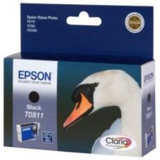 Картридж C13T08114A (заменен T11114A10) Claria для Epson Stylus Photo 1410/ R270/ R290/ R390/ RX590/ RX610/ RX615/ RX690/ T50/ T59/ TX650/ TX659/ TX700W/ TX710W/ TX800FW, черный (480 стр.)