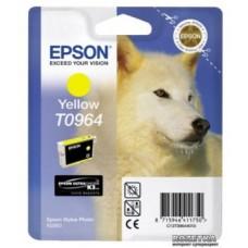 Картридж C13T09644010 для Epson Stylus Photo R2880, желтый (890 стр.)