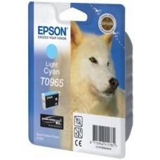 Картридж C13T09654010 для Epson Stylus Photo R2880, светло-голубой (865 стр.)