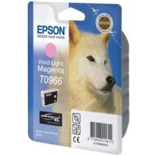 Картридж C13T09664010 для Epson Stylus Photo R2880, светло-пурпурный (835 стр.)