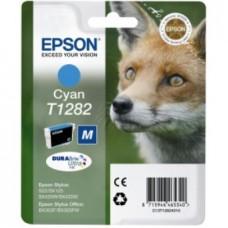 Картридж C13T12824010 для Epson Stylus S22/ SX125/ SX230/ SX235W/ SX420W/ SX425W/ SX430W/ SX435W/ SX440W/ SX445W, Office BX320FN/ BX305F, голубой (270 стр.)