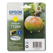 Картридж C13T12944010 для Epson Stylus SX230/ SX235W/ SX420W/ SX425W/ SX430W/ SX435W/ SX440W/ SX445W, Office BX305F/ BX320FN/ BX625FWD, желтый (665 стр.)