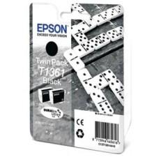 Картридж C13T13614A10 для Epson K101/ K201/ K301, черный (2000 стр. 2 шт.)