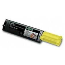 Картридж S050187 (Заправка картриджа) для принтеров Epson AcuLaser C1100/ CX11N/ CX11NF, желтый (4000 стр.) (с чипом)