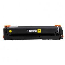 Картридж CF532A (№205A) (Заправка картриджа + чип) для принтеров HP Color LaserJet Pro M180n/ M181fx, желтый (900 стр.)