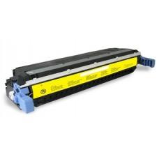 Картридж C9732A (Заправка картриджа + чип) для принтеров HP CLJ 5500/ 5550, желтый (12000 стр.)