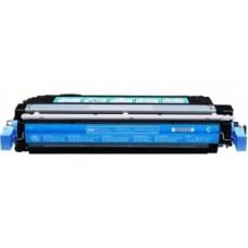 Картридж CB401A (Заправка картриджа + чип) для HP Color LaserJet CP4005, голубой (7500 стр.)