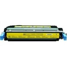 Картридж CB402A (Заправка картриджа + чип) для HP Color LaserJet CP4005, желтый (7500 стр.)