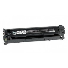 Картридж CB540A (Заправка картриджа + чип) для принтеров HP CLJ CP1215/ CP1515N/ CP1518Ni, черный (2200 стр.)