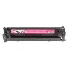 Картридж CB543A (Заправка картриджа + чип) для принтеров HP CLJ CP1215/ CP1515N/ CP1518Ni, пурпурный (1400 стр.)