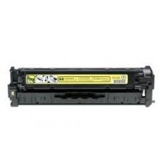 Картридж CC532A (Заправка картриджа + чип) для принтеров HP CLJ CM2320/ CP2025, желтый (2800 стр.)