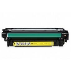 Картридж CE252A (Заправка картриджа + чип) для принтеров HP СLJ CM3530/ CP3520/ CP3525, желтый (7000 стр.)
