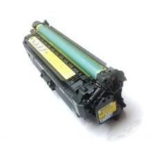 Картридж CE262A (Заправка картриджа + чип) для HP Color LaserJet CP 4025/ CP 4525/ CM4540, желтый (11000 стр.)