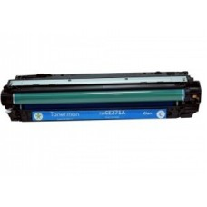 Картридж CE271A (Заправка картриджа + чип) для принтеров HP CLJ CP5525, голубой