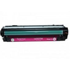Картридж CE273A (Заправка картриджа + чип) для принтеров HP CLJ CP5525, пурпурный