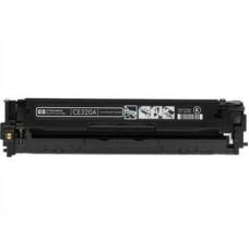 Картридж CE320A (Заправка картриджа + чип) для принтеров HP Color LaserJet CP1525N/ HP CP1525NW/ HP CM1415FN/ HP CM1415FNW, черный (2000 стр.)