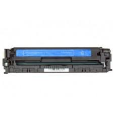 Картридж CE321A (Заправка картриджа + чип) для принтеров HP Color LaserJet CP1525N/ HP CP1525NW/ HP CM1415FN/ HP CM1415FNW, голубой (1300 стр.)