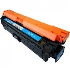 Картридж CE741A (Заправка картриджа + чип) для HP Color LaserJet CP 5225, голубой (7300 стр.)