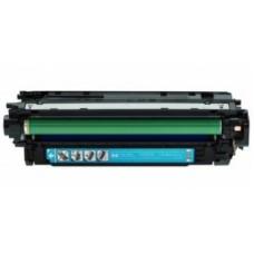 Картридж CF031A (Заправка картриджа + чип) для принтеров HP Color LaserJet Enterprise CM 4540, голубой (12500 стр.)
