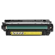 Картридж CF032A (Заправка картриджа + чип) для принтеров HP Color LaserJet Enterprise CM 4540, желтый (12500 стр.)